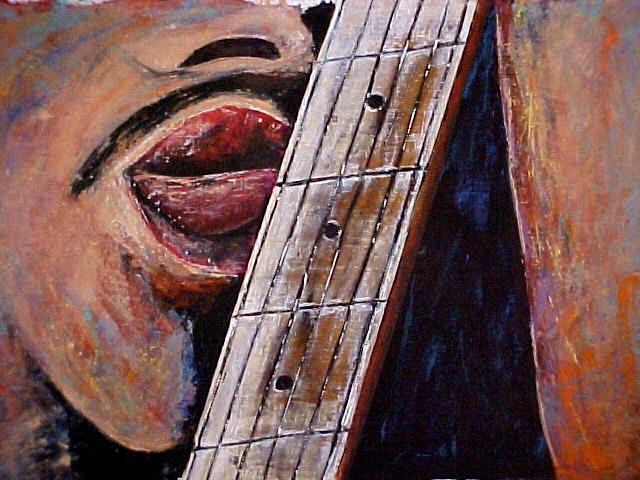 The Guitar  Kiss