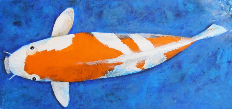 Koivis Sandan Kohaku  | 25 x 50 cm.