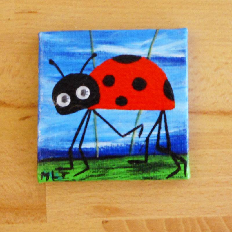 Lieveheersbeestjes met standaard: 7x7