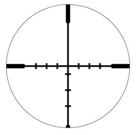 Vortex Crossfire II 4-12x50 AO Richtkijker, Dead-Hold BDC Dradenkruis (MOA)