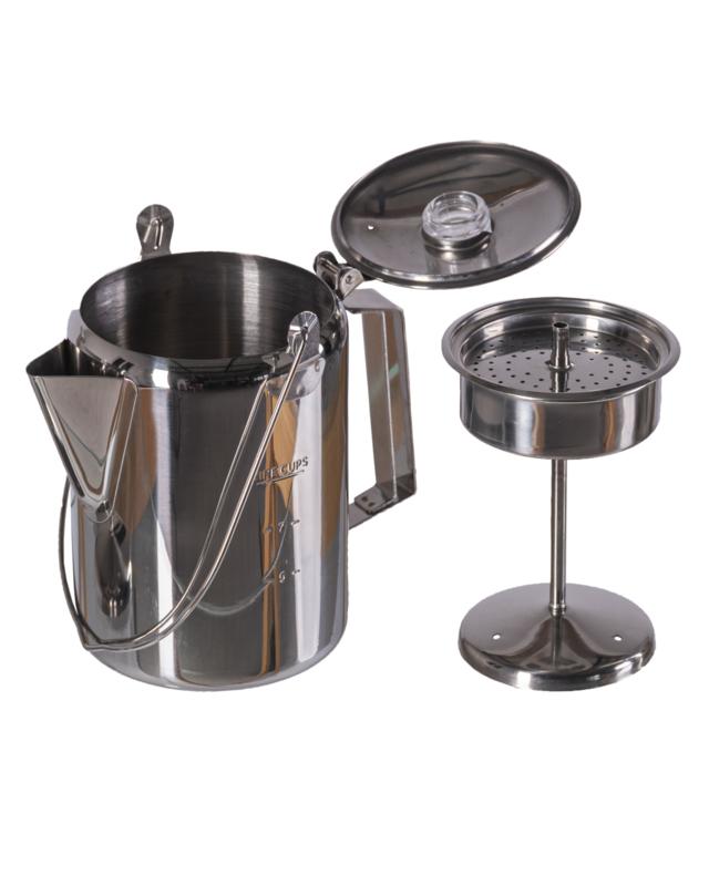 Koffiepot RVS / Percolator (9 Kopjes)