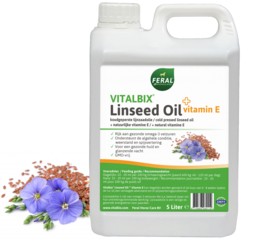 Vitalbix Linseed Oil + Vitamin E 5 Liter