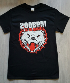Hells / Lunatic '200 BPM  is de Basis' Shirt (LIMITED)