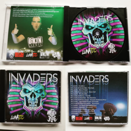 Lunatic CD Album INVADERS (LIMITED)