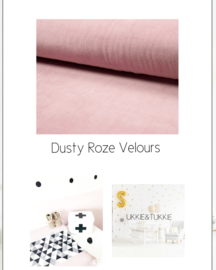Velours Dusty Roze
