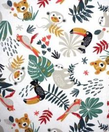 Jungle Party & wafelkatoen kleur naar wens