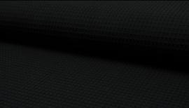 Zwart Wafelkatoen