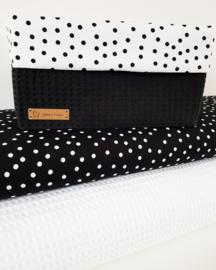 Zwart witte dots klein of Wit zwarte dots klein