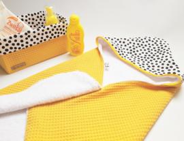 Stippen Dalmatier dots & wafelkatoen kleur naar wens
