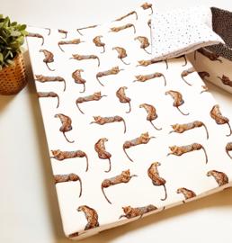 Aankleedkussenhoes Luipaarden