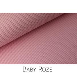 Baby Roze Wafelkatoen