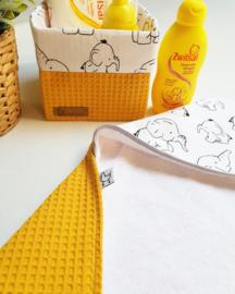 Badcape & omslagdoeken