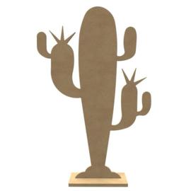 Cactus met voet (38 cm)