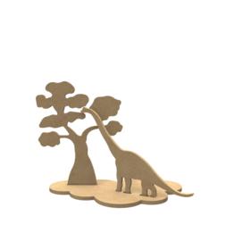 Apatosaurus set ( 24 x 19 cm)