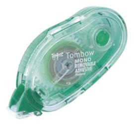 Tombow Glue Tape - non-permanente lijmroller -PN-MK - Refillable