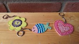 sleutelhanger vis