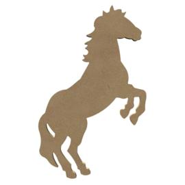 Paard (steigerend) MDF 26 cm