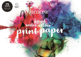 Watercolour PRINTpaper Ecoline