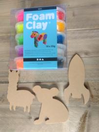 Foam Clay gezinspakket 1