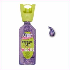 DI40953- 3D verf dekkende glitter mauve