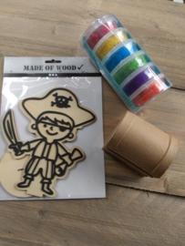 Piraat pakket 3 (foam clay)