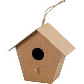 vogelhuis rond gat (11 cm)