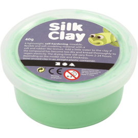 Silk Clay, groen, 40gr