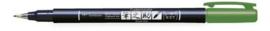 Tombow Brush pen Fudenosuke hard WS-BH GROEN