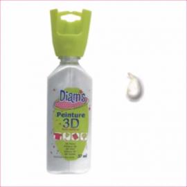 DI40911- 3D verf parelmoer wit (blanc)