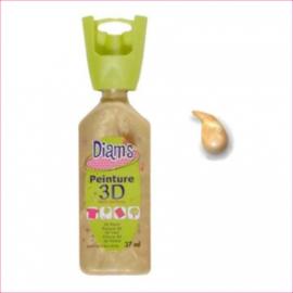 DI40926- 3D verf parelmoer licht goud (sable d'or)