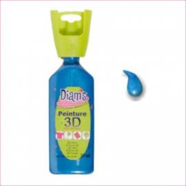 DI40922- 3D verf parelmoer mediteraan blauw (mediterranée)