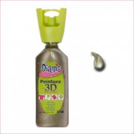 DI40963- 3D verf parelmoer taupe