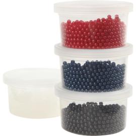 Pearl Clay, 3x25 gr, blauw, rood, zwart, 1set