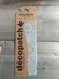 Decopatch  bohemian goud/taupe nr 638