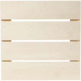 Muurdecoratie, afm 28,6x28,6 cm, triplex