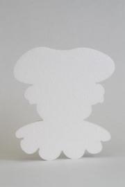 Zwarte Piet Styropor 20 cm
