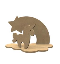 Eenhoorn set (24 x 15 cm)