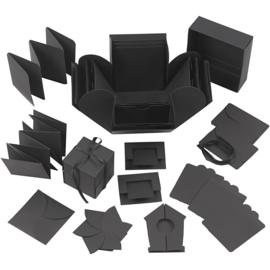 Explosion Box zwart 12 x 12 cm
