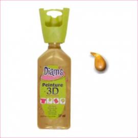 DI40930- 3D verf parelmoer goud (or)