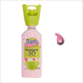 DI40903- 3D verf glanzend roze (rose)  OP=OP