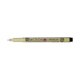 Sakura Pigma Micron 005 pen zwart 0,2 mm