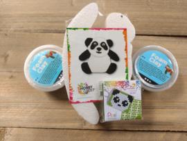 Panda pakket (pixel - foam Clay)