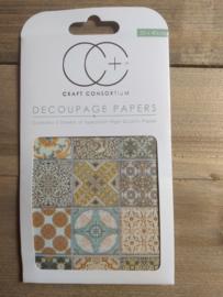 Craft Consortium decoupage Marrakesh