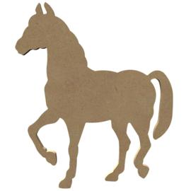 Paard (staand) MDF 26 cm