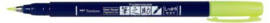 Tombow  Fudenosuke hard WS-BH Neon Geel