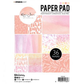 Paper pad A5 36 vel - Karin Joan Blooming collection nr.02
