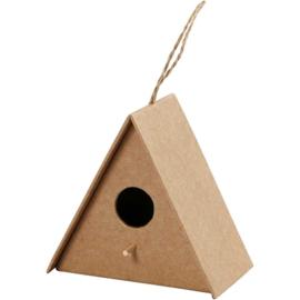 vogelhuis driehoek (10 cm)