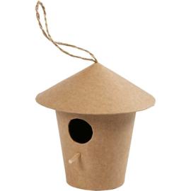 vogelhuis rond (10,5 cm)
