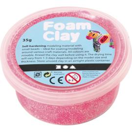 Foam Clay, neon roze, 35gr