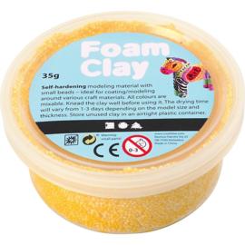 Foam Clay, geel, 35gr